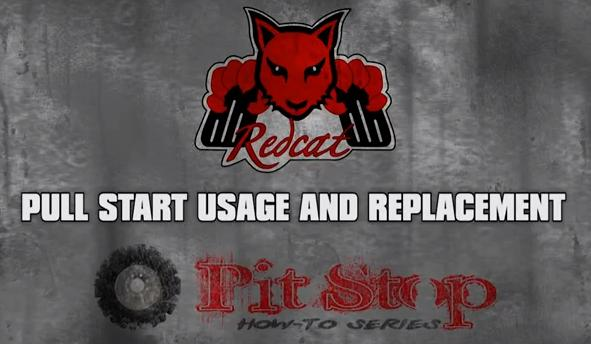 Redcat Racing How to Nitro RC Pull Start Usage Video Image