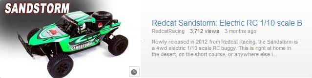 Redcat Racing RC Car Sandstorm