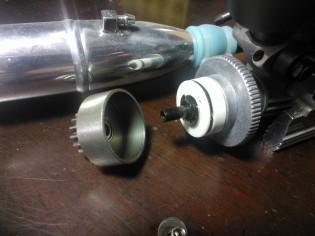 RC car clutch