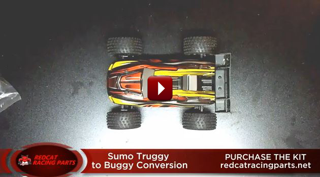 Redcat Racing Sumo Truggy to Buggy Conversion How To Video Image