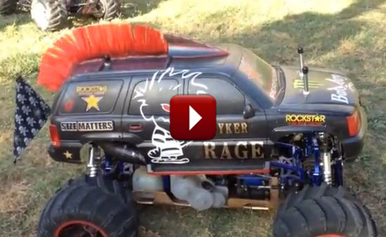 Redcat Racing Friday Fun Feature Custom Rampage MT PRO RC Image