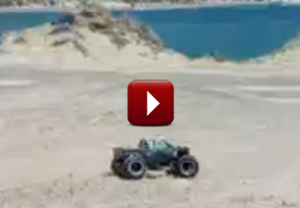 Redcat Racing Friday Fun Feature Rampage MT Sand Dunes Video Image