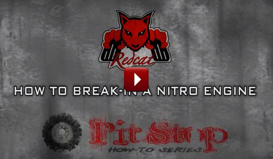 Redcat Racing How to Nitro RC Engine Break In Video Image