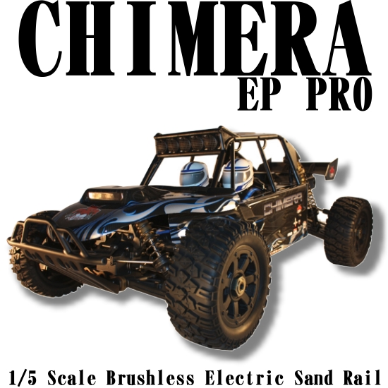 Redcat Racing Rampage Chimera PRO Brushless RC Sand Rail Image-01