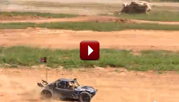 Redcat Racing Rampage Chimera SR RC Sand Rail Video Image