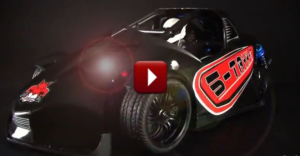 Redcat Racing S-TRYK-R  PRO RC 3 Wheel Car Video Image