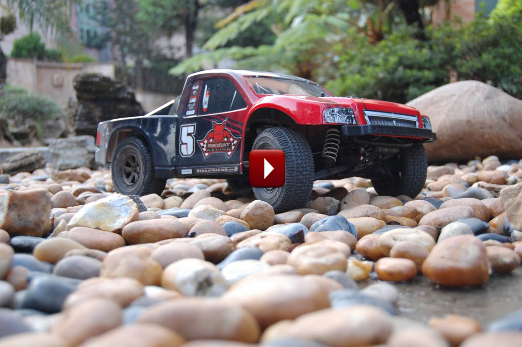Redcat Racing Afterschock RC Truck Video Image