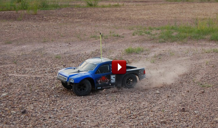 Redcat Racing Aftershock 8E RC Desert Truck Image