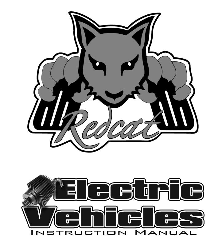 Redcat Racing Electric RC Vehicle Manual Image