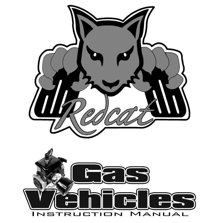 Redcat Racing Electric RC Vehicle Manual Image