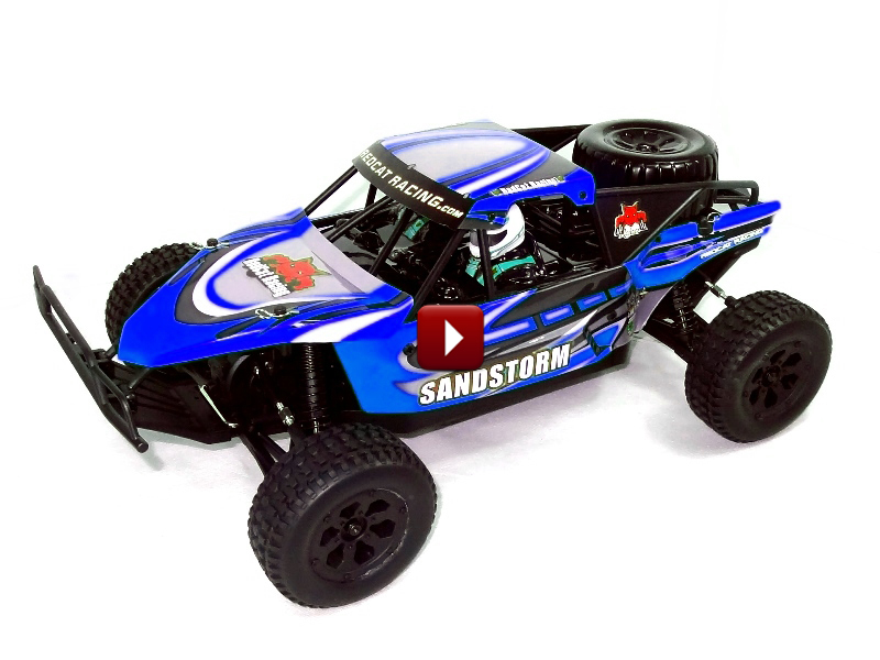 Redcat Racing RC Car Sandstorm 1/10 Scale Baja Buggy