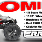 Redcat Racing Terremoto Brushless RC Monster Truck Image Coming Soon