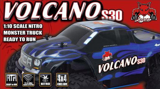 Redcat Racing Volcano S30 Nitro RC Truck Image