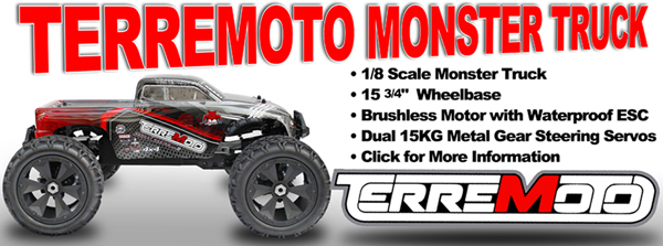 Redcat Racing Terremoto Brushless Monster Truck Image
