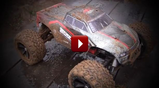Redcat Racing Terremoto Brushless RC Truck New Track Footage Video Image