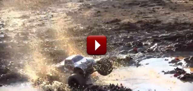 Redcat Racing Terremoto Brushless RC Truck New Mud and Water Video Image