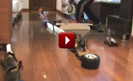 Redcat Racing Friday Fun Feature Ali Sumo RC Race Video Image