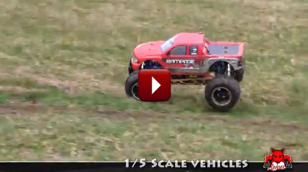 Redcat Racing Rampage 1-5 Scale Action Loop Video Image