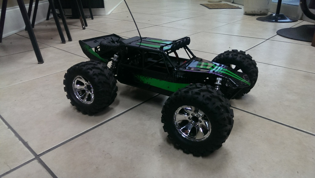 Redcat Racing Cribbs Custom Mirage Upgraded RC Sandrail Image