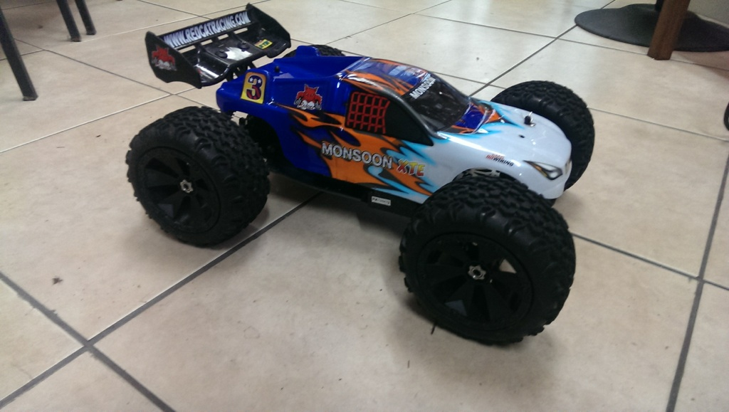 Redcat Racing Cribbs Custom Monsoon Upgraded RC Sandrail Image