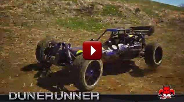 Redcat Racing Rampage Dunerunner Gas RC Buggy New Promo Video Image