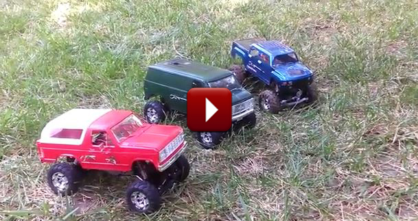 Redcat Racing Friday Fun Feature Sumo Crawler Backyard Course