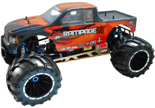 Redcat Racing Rampage MT Gas RC Monster Truck New Body Style Image