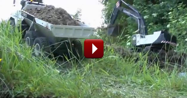 Redcat Racing Friday Fun Feature EVEN MORE RC Construction Site Video Image