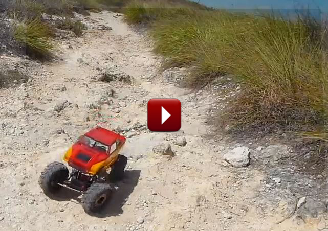 Redcat Racing Friday Fun Feature Rockslide RS10 Rock Crawler At The Beach Video Image