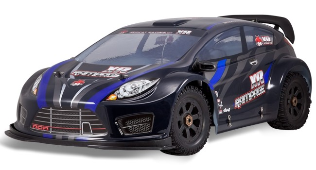 Redcat Racing Rampage XR EP PRO Large Scale Brushless Rally Car New Image