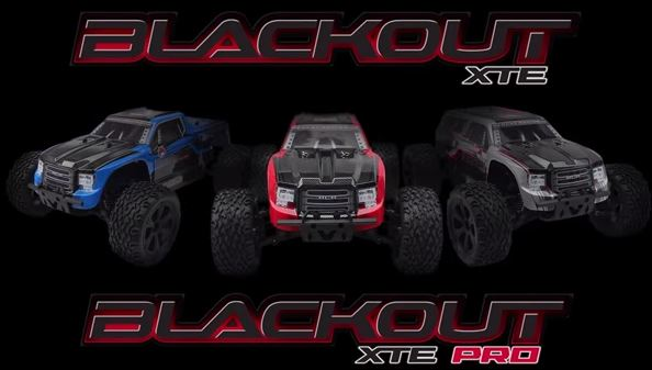 Redcat Racing Blackout XTE - Blackout XTE PRO Electric Monster Truck and SUVs