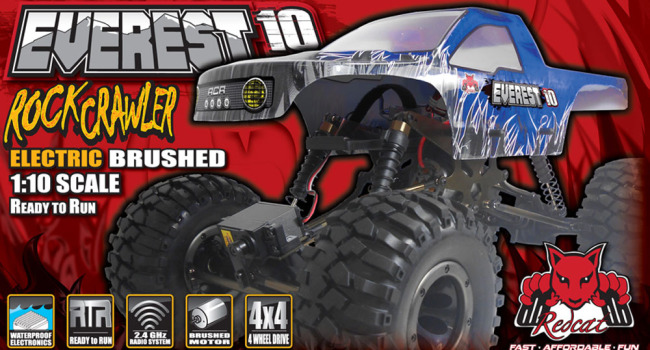 Redcat Racing Everest-10 Tenth Scale RC Rock Crawler Image
