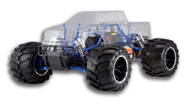 Redcat Racing Rampage MT PRO Clear Body Image