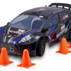 Redcat Racing Rampage XR EP PRO Large Scale Brushless Rally Car with Cones Image