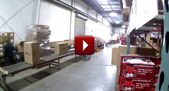 Redcat Racing Black Monday Busiest Shipping Day of the Year Time Lapse Video Image