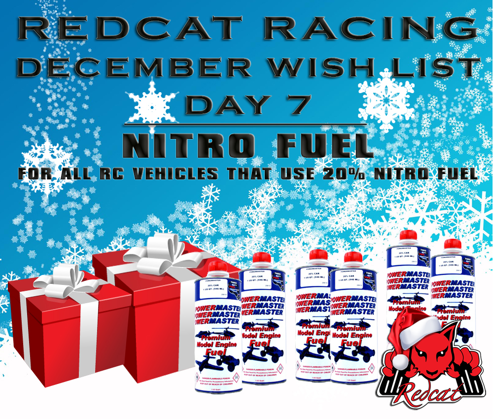 December Wish List Day 7 - Nitro Fuel