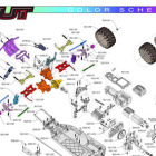 Redcat Racing Blackout Color Coded Schematic Slider Image