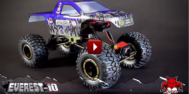 Redcat Racing Everest-10 Tenth Scale RC Rock Crawler Teaser Video Cover Image