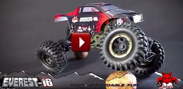 Redcat Racing Everest-16 1-16 Scale RC Rock Crawler Teaser Video Cover Image